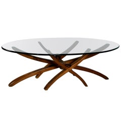 Organic '50s low table