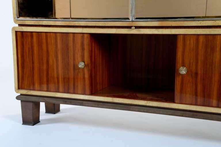 Italian Extraordinary 1930 cabinet designed by Gio Ponti for Paolo Lietti & Figli