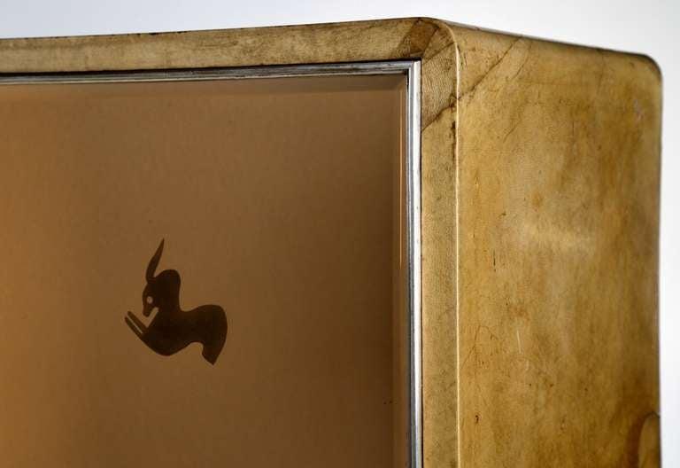 Extraordinary 1930 cabinet designed by Gio Ponti for Paolo Lietti & Figli 1