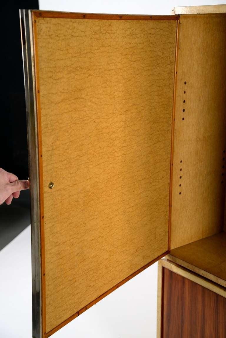 Extraordinary 1930 cabinet designed by Gio Ponti for Paolo Lietti & Figli 2