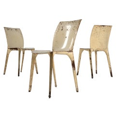 Set of 10 Lambda chairs by Marco Zanuso