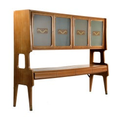 Elegant 1950 sideboard attributed to Giovanni Gariboldi