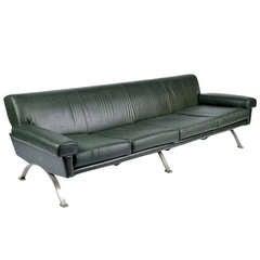 Large '60s sofa by Saporiti