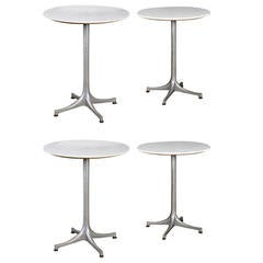 Set of Four Model 5451 1950s Side Tables by George Nelson for Herman Miller