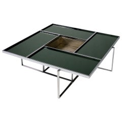 Architectural large low table from the '70s
