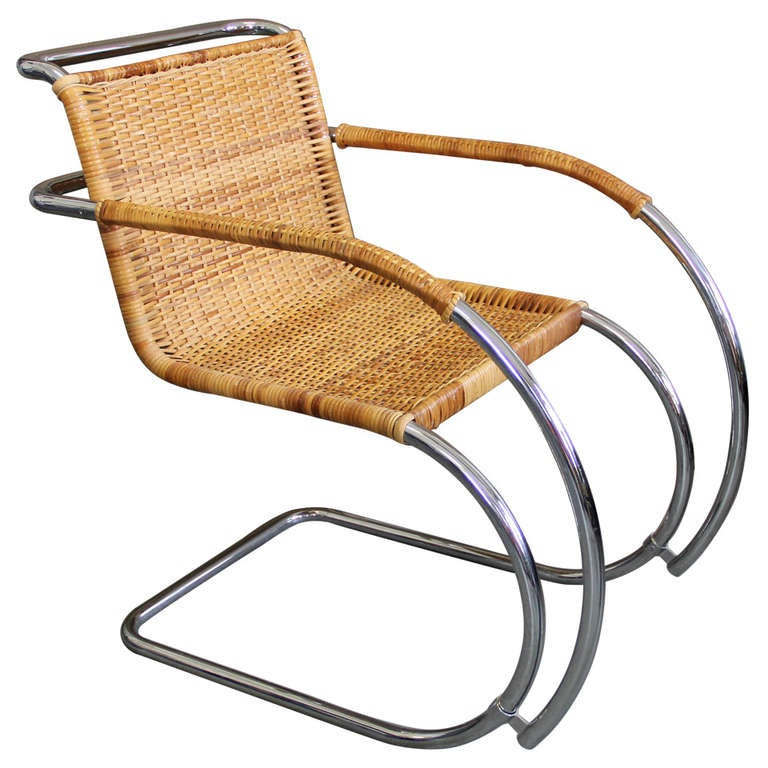 mr 20 lounge chair by ludwig mies van der rohe at 1stdibs. Black Bedroom Furniture Sets. Home Design Ideas