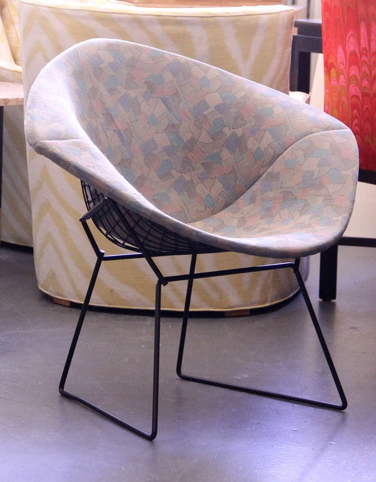 Vintage 1950 s harry bertoia for knoll diamond lounge chair at 1stdibs