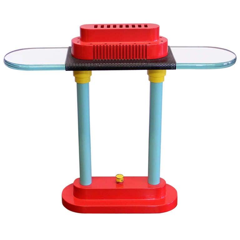 Robert Sonneman For George Kovacs Memphis Style Table Lamp