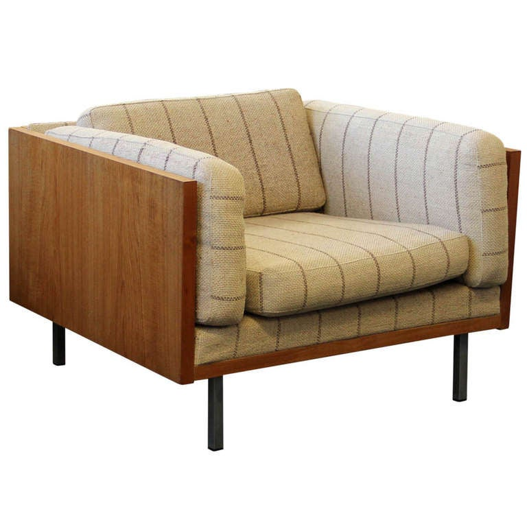 Danish modern teak surround lounge chair by komfort at 1stdibs - Designer couch modelle komfort ...