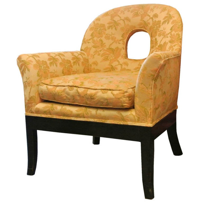 1940 s Grosfeld House Style Lounge Chair at 1stdibs