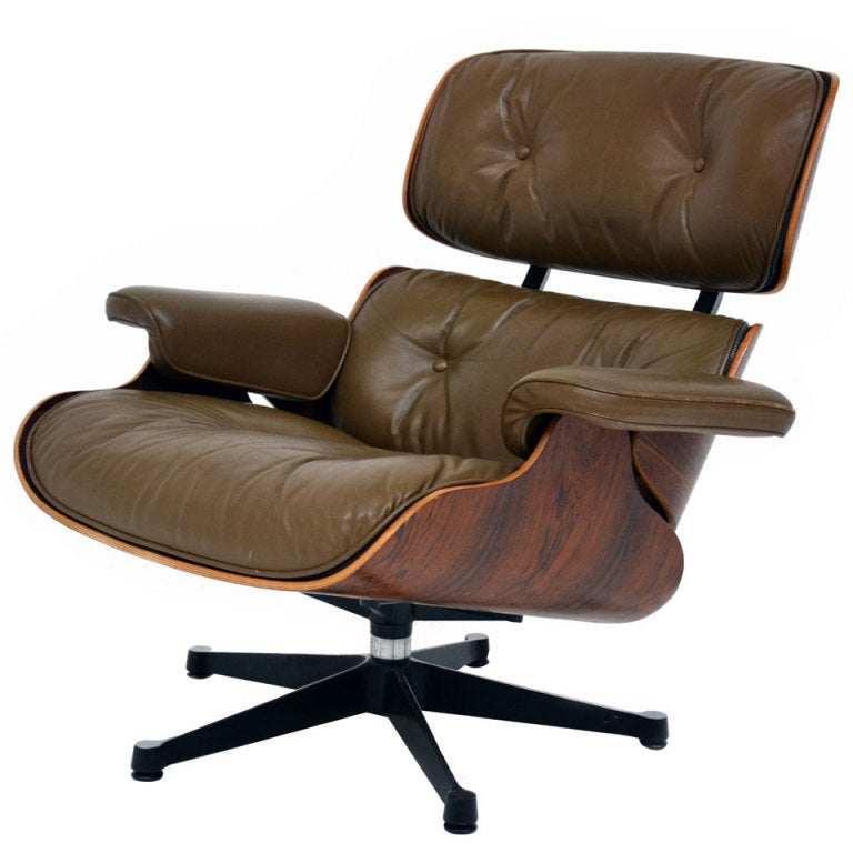 lounge chair charles eames vitra at 1stdibs. Black Bedroom Furniture Sets. Home Design Ideas