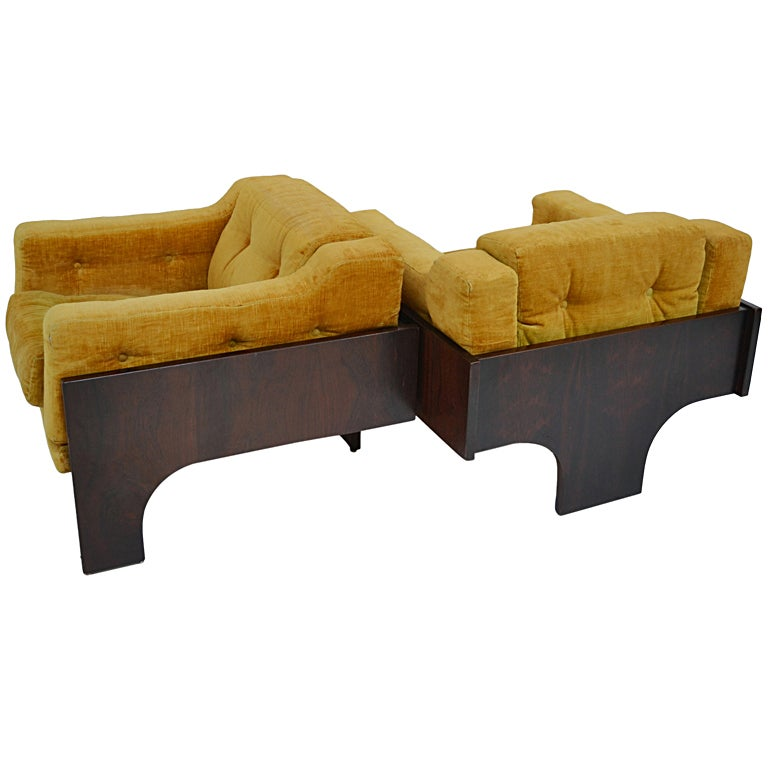 Pair of Armchairs Oriolo designer Claudio Salocchi at 1stdibs : XXX100 from www.1stdibs.com size 768 x 768 jpeg 41kB