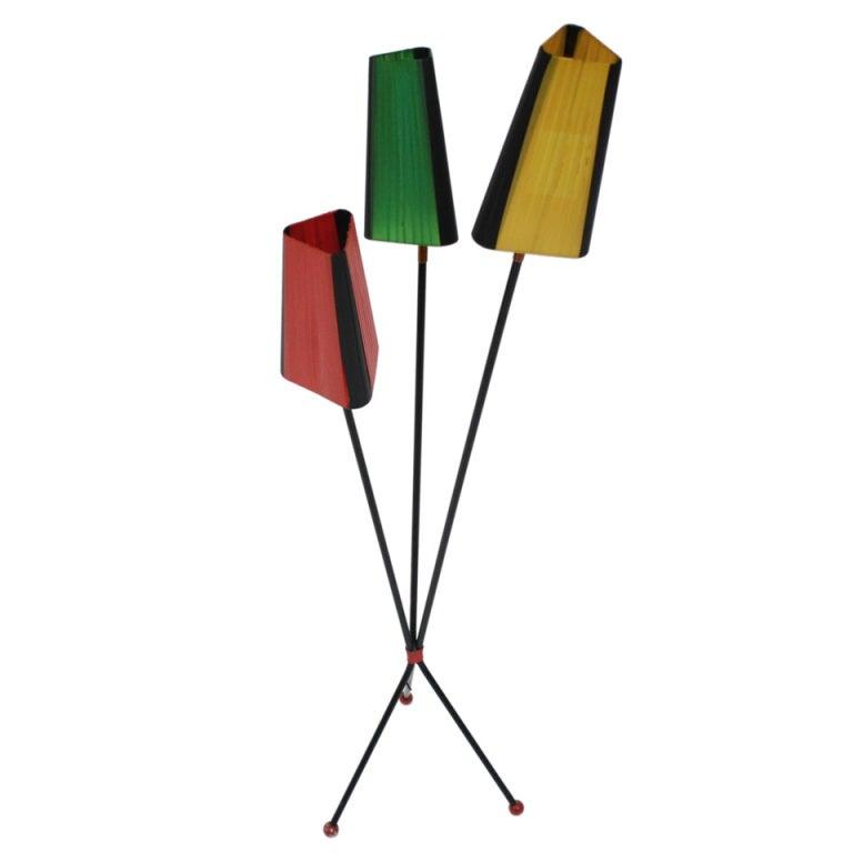 floor lamp 50 39 s at 1stdibs. Black Bedroom Furniture Sets. Home Design Ideas