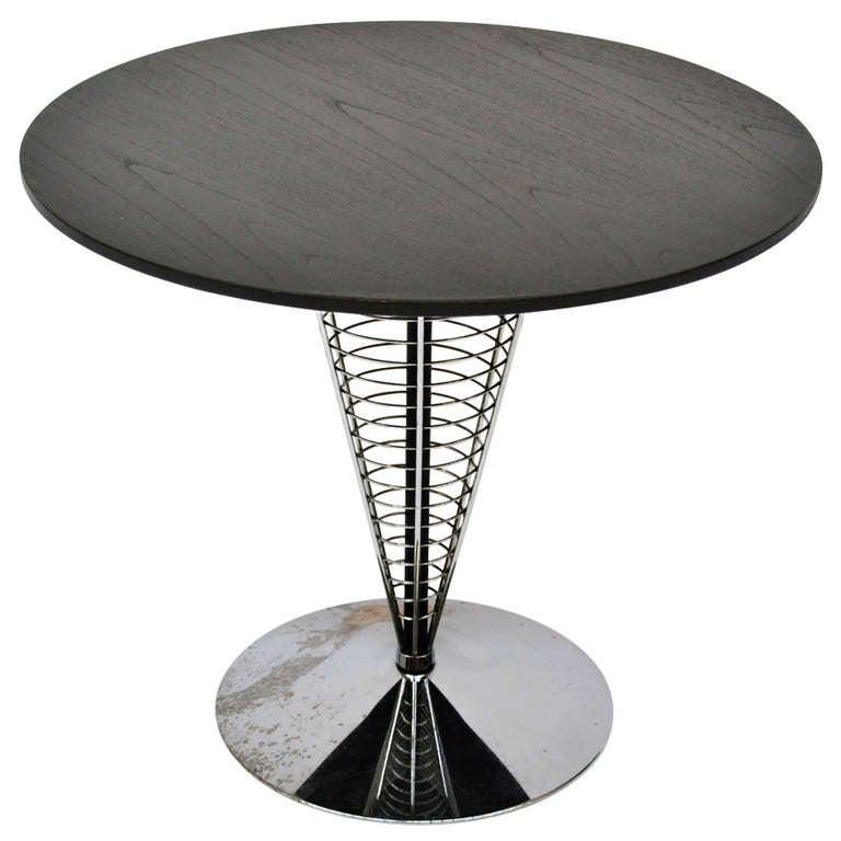 table cone verner panton at 1stdibs. Black Bedroom Furniture Sets. Home Design Ideas