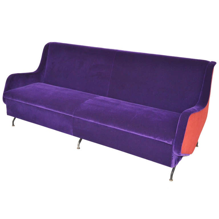 sofa bed 60 39 s italian work at 1stdibs