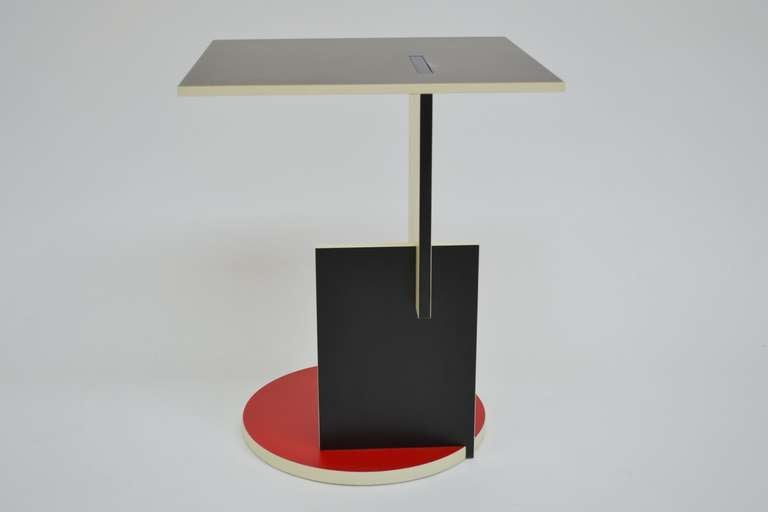 Coffee Table Schroeder 1 Gerrit Rietveld Cassina at 1stdibs