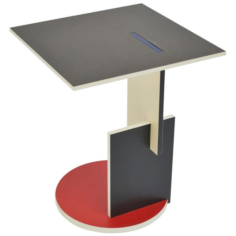 Coffee Table Schroeder 1- Gerrit Rietveld-Cassina at 1stdibs