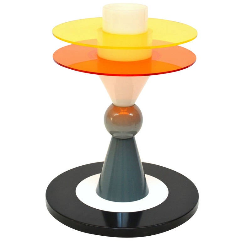 Table Lamp Bay By Ettore Sottsass For Memphis At 1stdibs