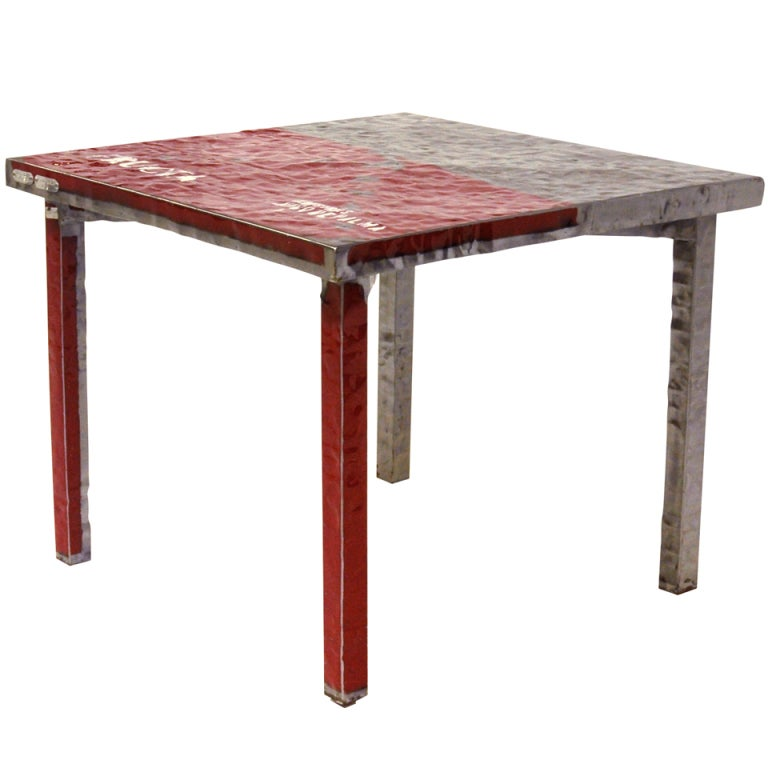 Table freak industrial limited edition at 1stdibs for Limited space dining table