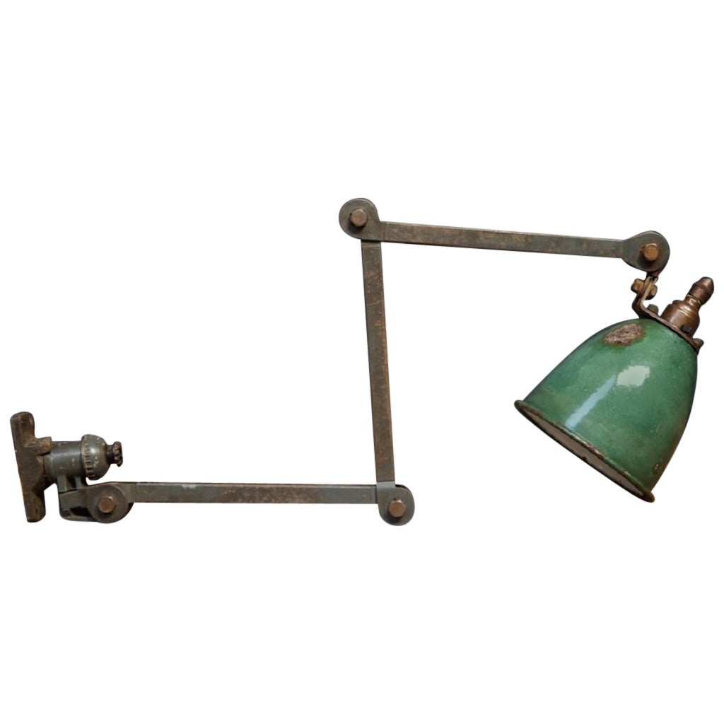 Wall Mounted Work Lamps : Wall Mounted Work Light at 1stdibs