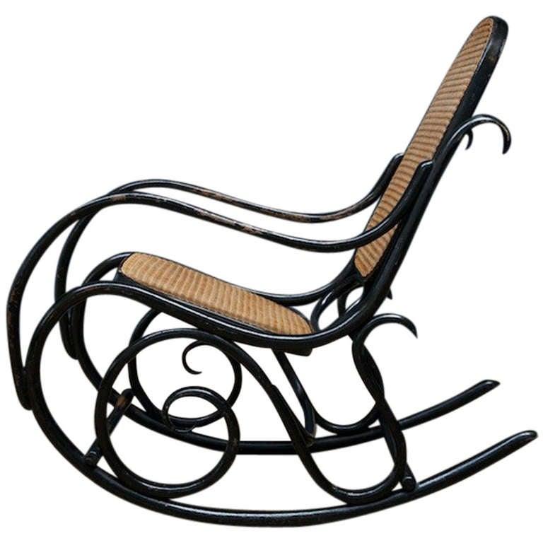 Thonet Rocking Chair No. 10 at 1stdibs