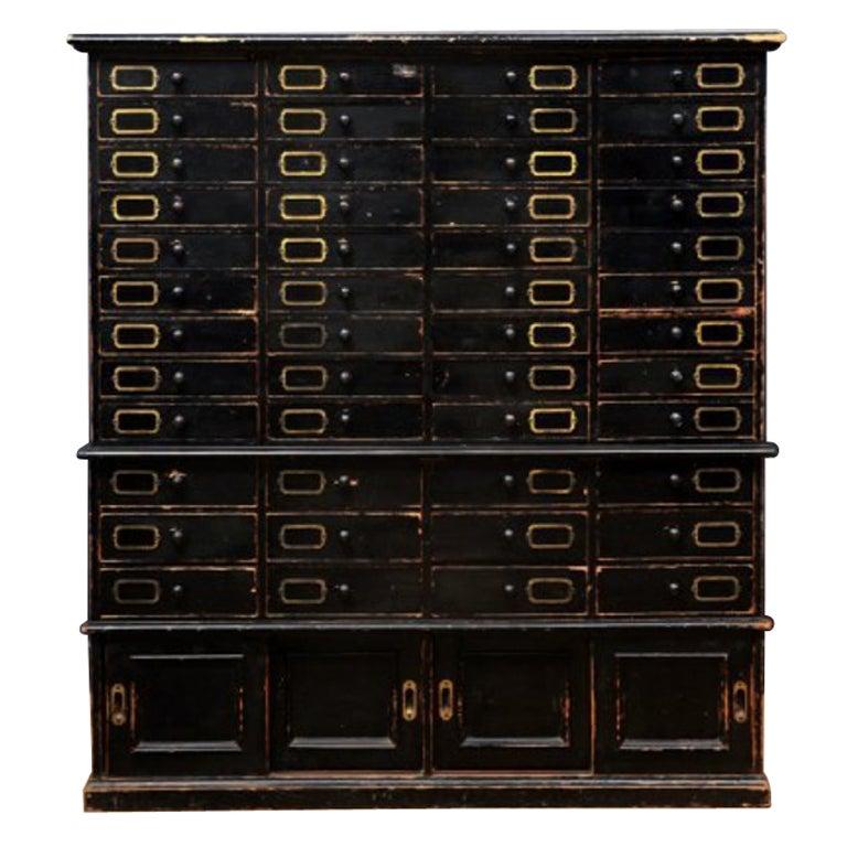 Ebonized Cabinet At 1stdibs