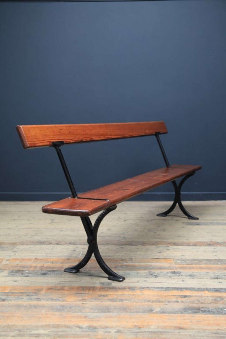 Swing Back Bench At 1stdibs