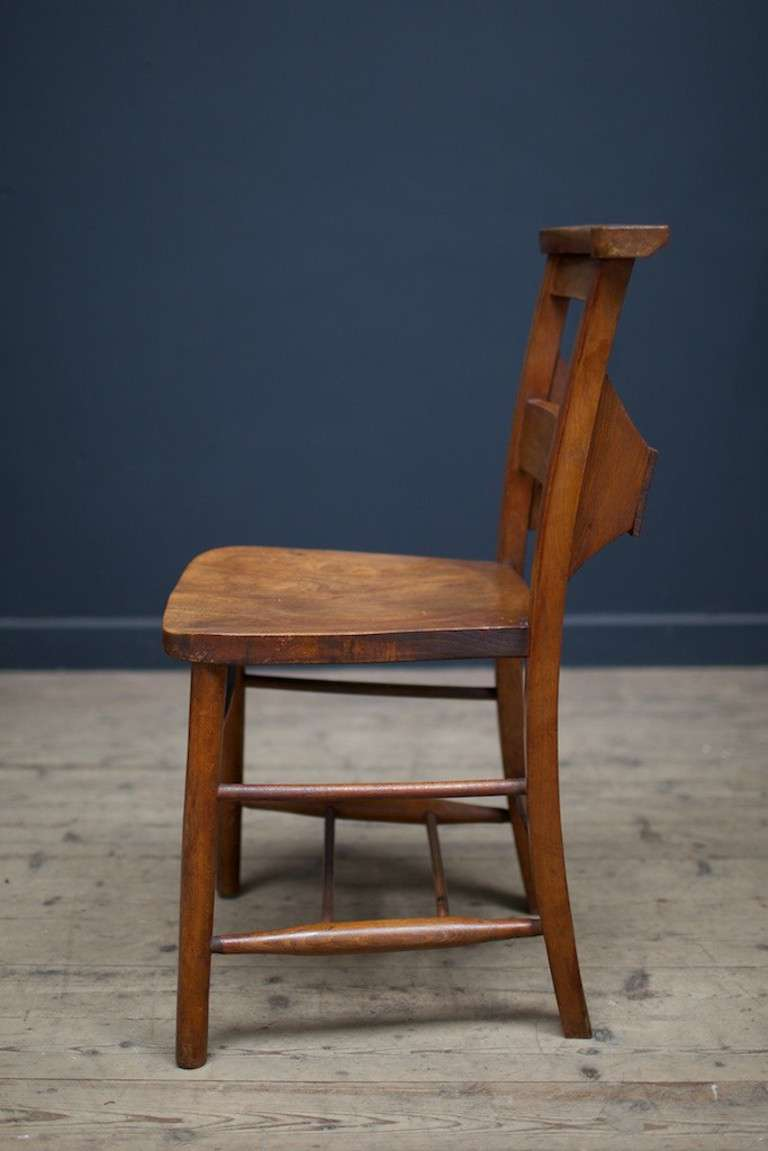 Maple And Beech Chapel Chairs At 1stdibs