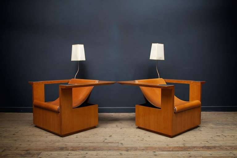 Merveilleux Senior And Carmichael Armchairs At 1stdibs