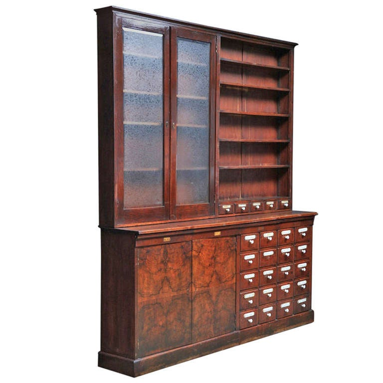 European Apothecary Cabinet At 1stdibs