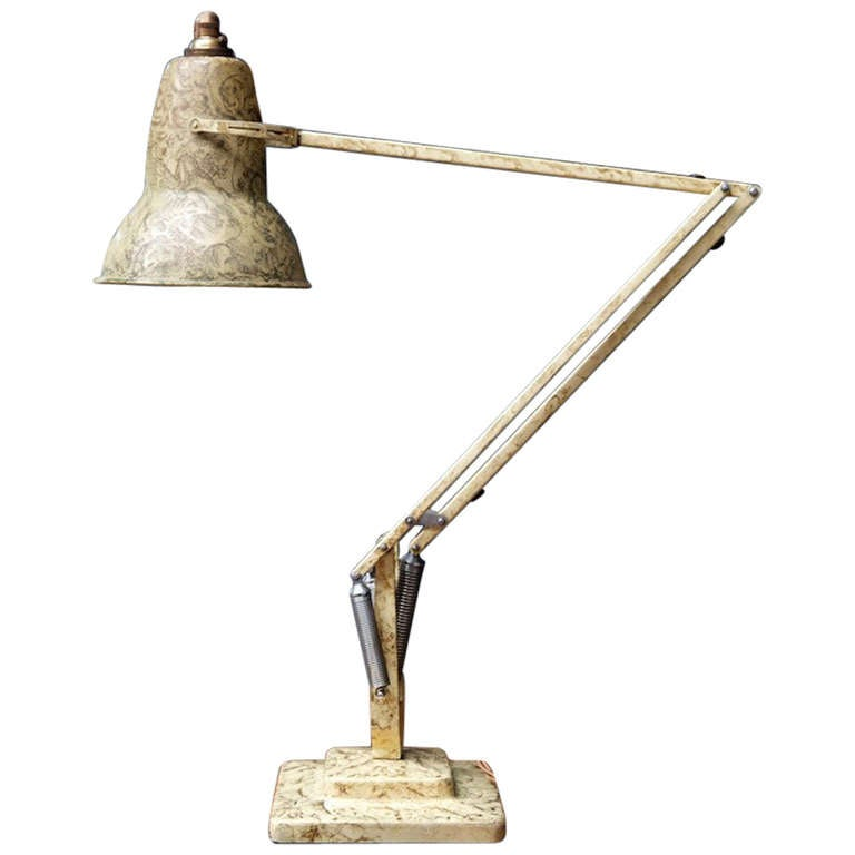 Anglepoise desk lamp at 1stdibs - Large anglepoise lamp ...