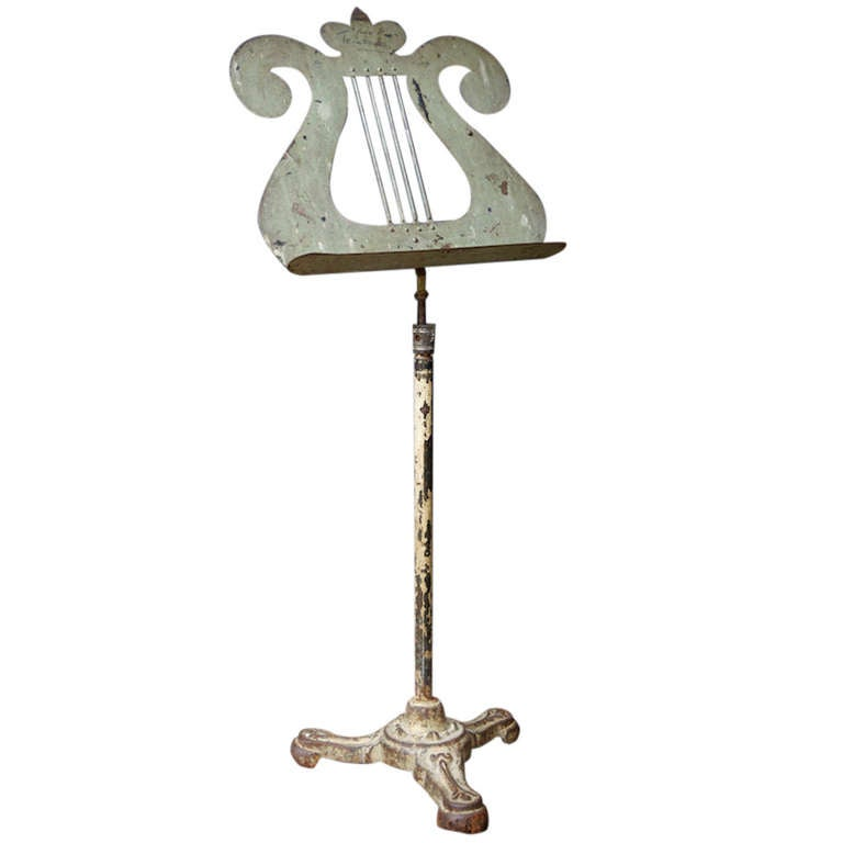Cast Iron Music Stand