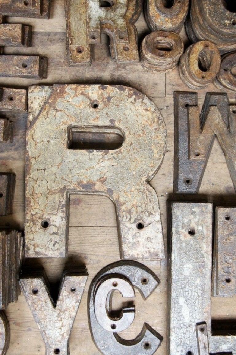 cast iron letters 3