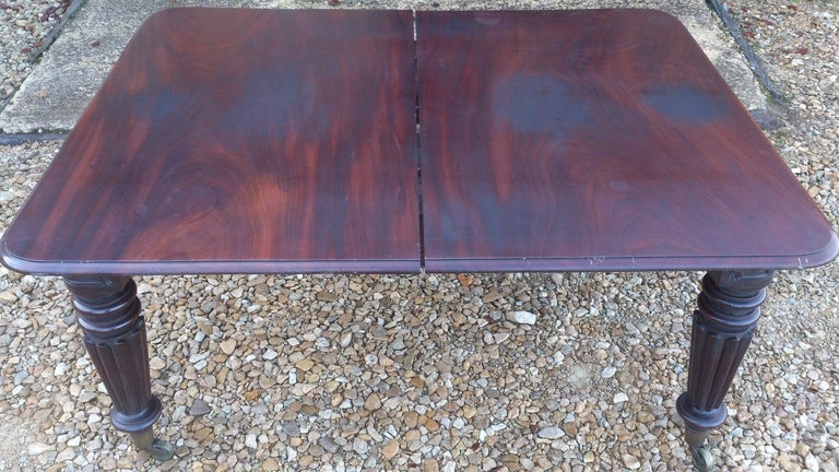 William IV Mahogany Dining Table For Sale
