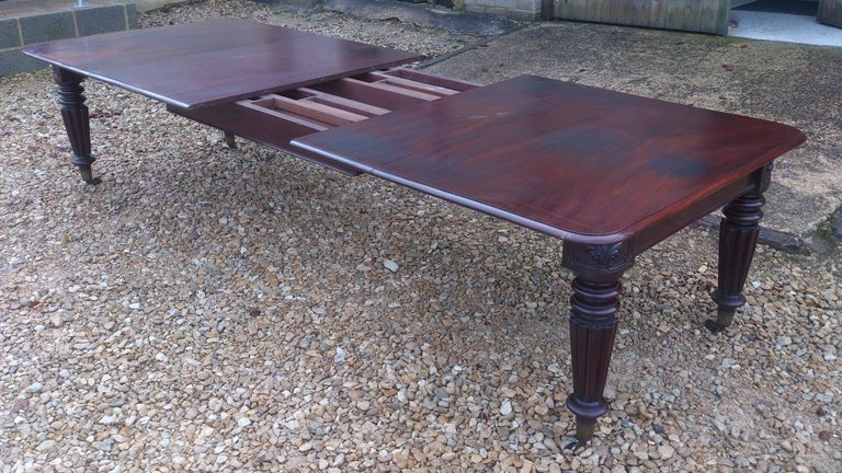 Mahogany Dining Table For Sale 4