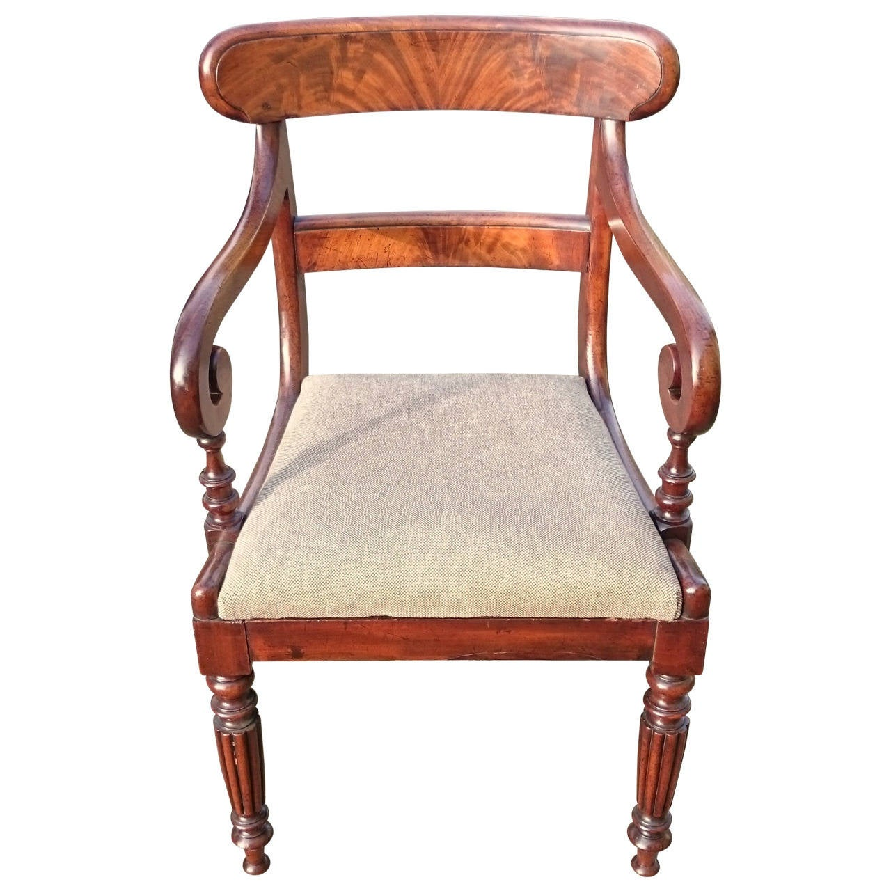 Antique Dining / Desk / Carver / Library Chair For Sale - Antique Dining / Desk / Carver / Library Chair For Sale At 1stdibs