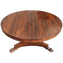 Circular Antique Dining Table