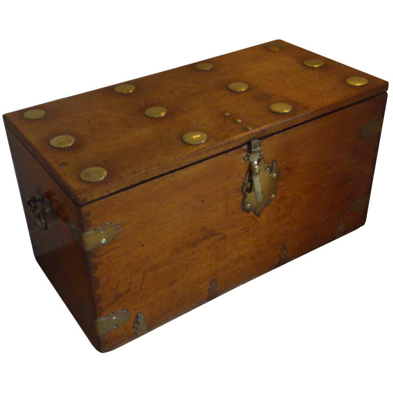 Antique Coffer / Seaman's Chest At 1stdibs