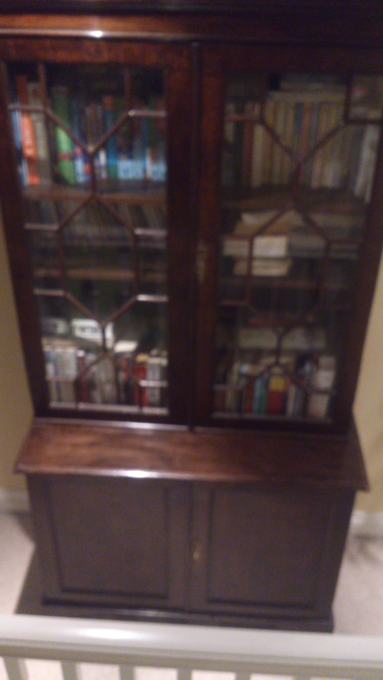 Small Georgian Bookcase For Sale 1