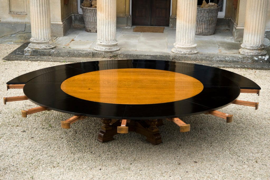 massive round dining table for sale at 1stdibs
