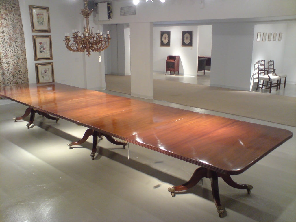 18 foot long dining table at 1stdibs for 5 foot dining room table