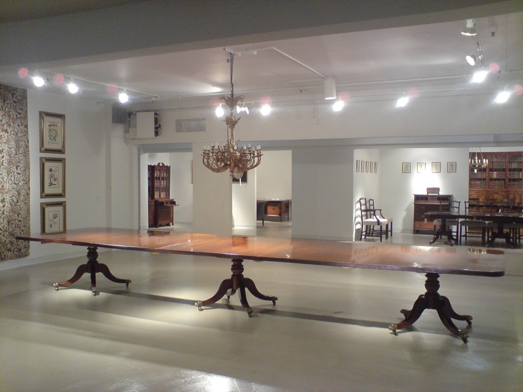 18 foot long dining table at 1stdibs for 9 foot dining room table
