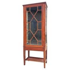 Circa 1900 Edwardian Period Mahogany Antique Cabinet