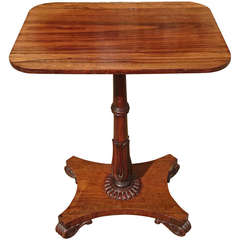 Antique Wine Table in Rosewood