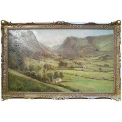 Breathtaking Welsh Mountain Scene Painted by a French Anglophile