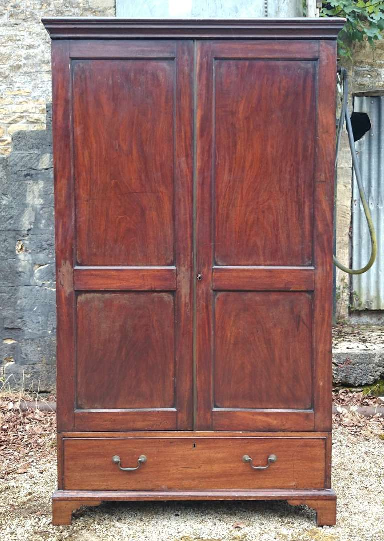 small scale antique wardrobe circa 1800 at 1stdibs