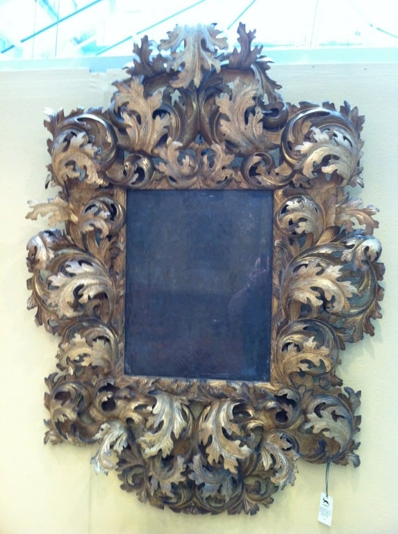 17th century italian rococo mirror at 1stdibs for 17th century mirrors