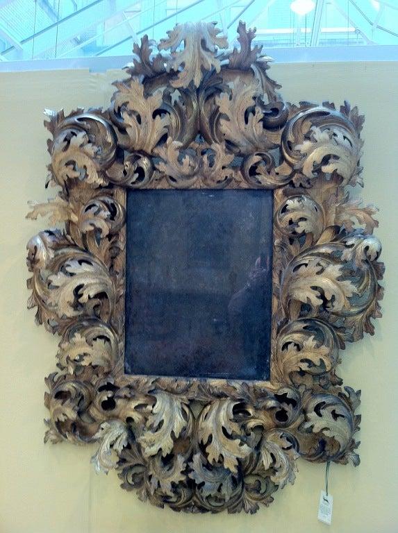 17th Century Italian Rococo Mirror image 5