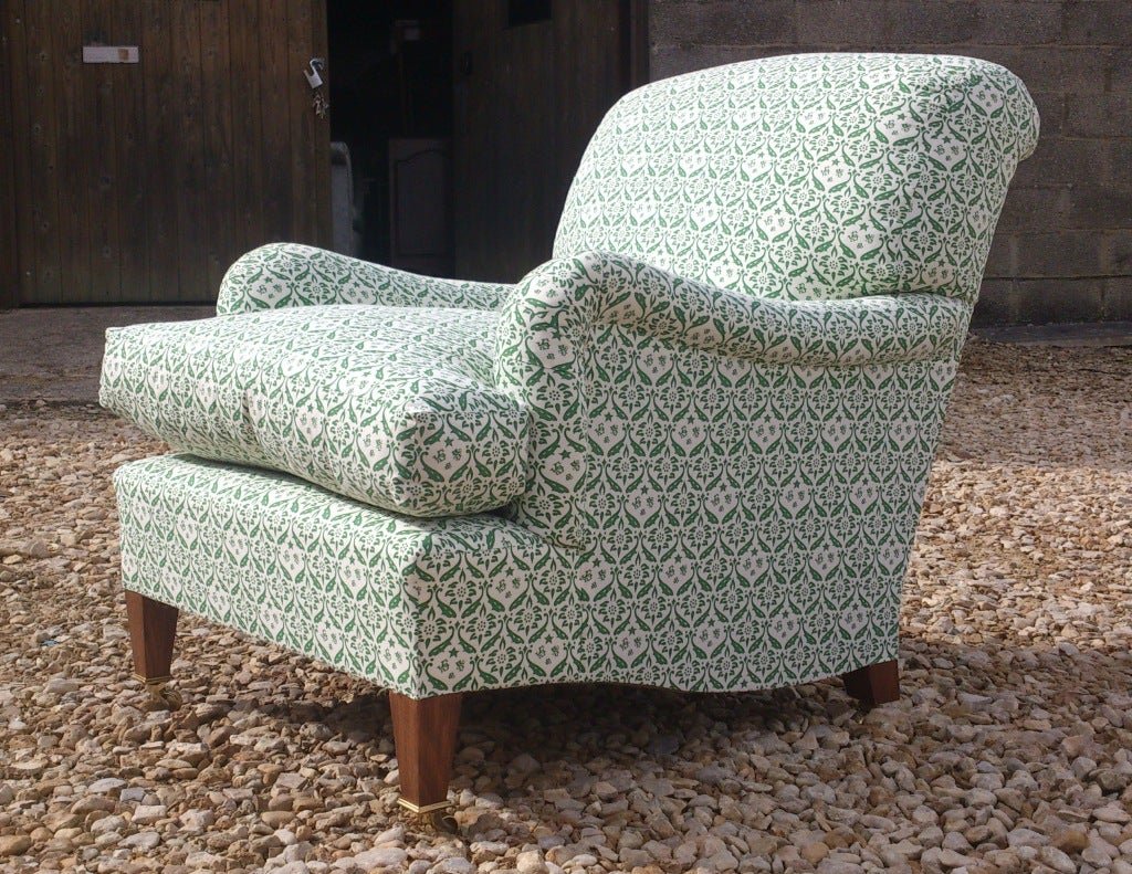 Howard chairs deep seated bridgwater chair for sale at 1stdibs for Deep sofas for sale