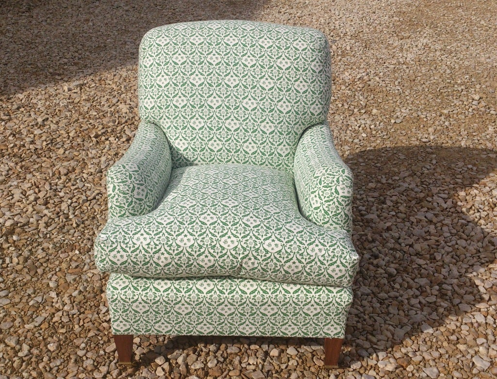 Howard Chairs Deep Seated Bridgwater Chair In Excellent Condition For Sale In Gloucestershire, GB